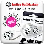 [���������� ���� �������� ����Ƣ�� ����Ŀ]Smiley BallMarker/�콽������� �߰��� �ö�ƽŬ��/��մ� �������� ����Ŀ�� 2��/���̵��� ������/����Ŀ ���������� �ְ�